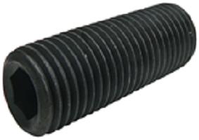 Socket Set Screws 14 9 Black - BSW - Fastening Solutions Ltd