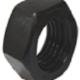 Hexagon Nuts Class 10 Black - Metric