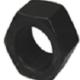 Hexagon Nuts Class 8 Black - Metric Fine