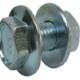 Purlin Bolt & Nut Assembly Grade Zinc 8.8 - Metric